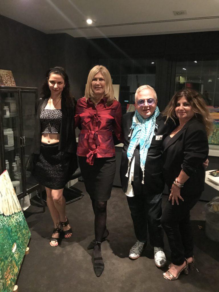 Farrah Sarafa, Kimberly Schmidt, Fares Rizk